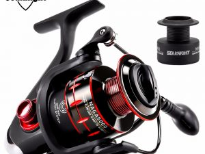 SeaKnight NAGA Spinning Fishing Reel + Spare Spool