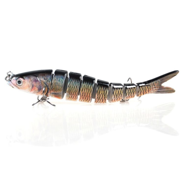 8-Segment Jointed Fishing Lure
