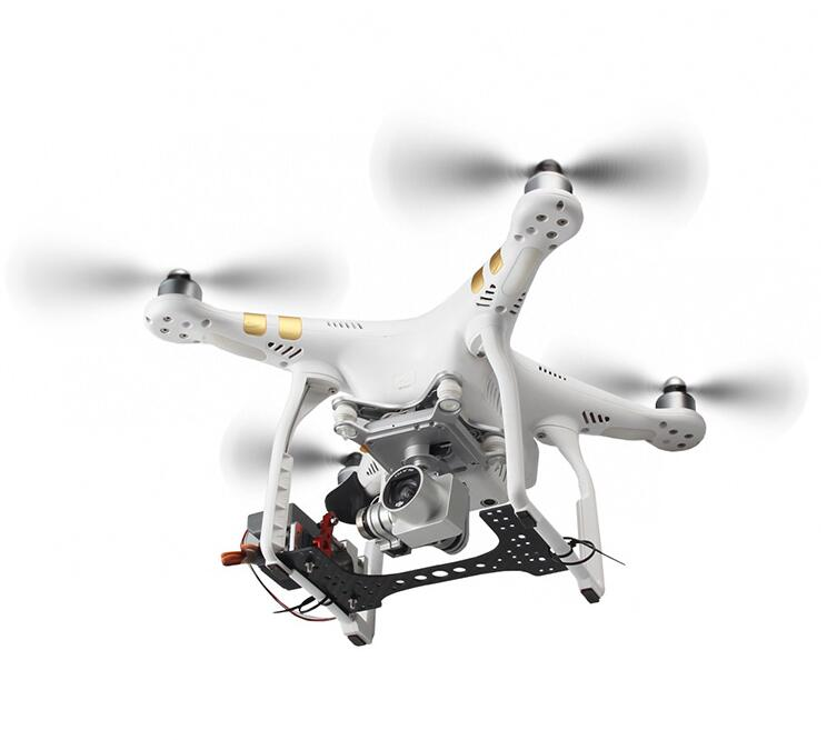Payload Release for DJI Phantom 2-3a-3p-3s-from-above