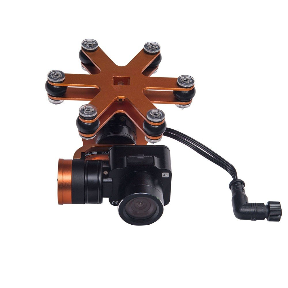 SwellPro 4K Camera - 2 Axis Gimbal
