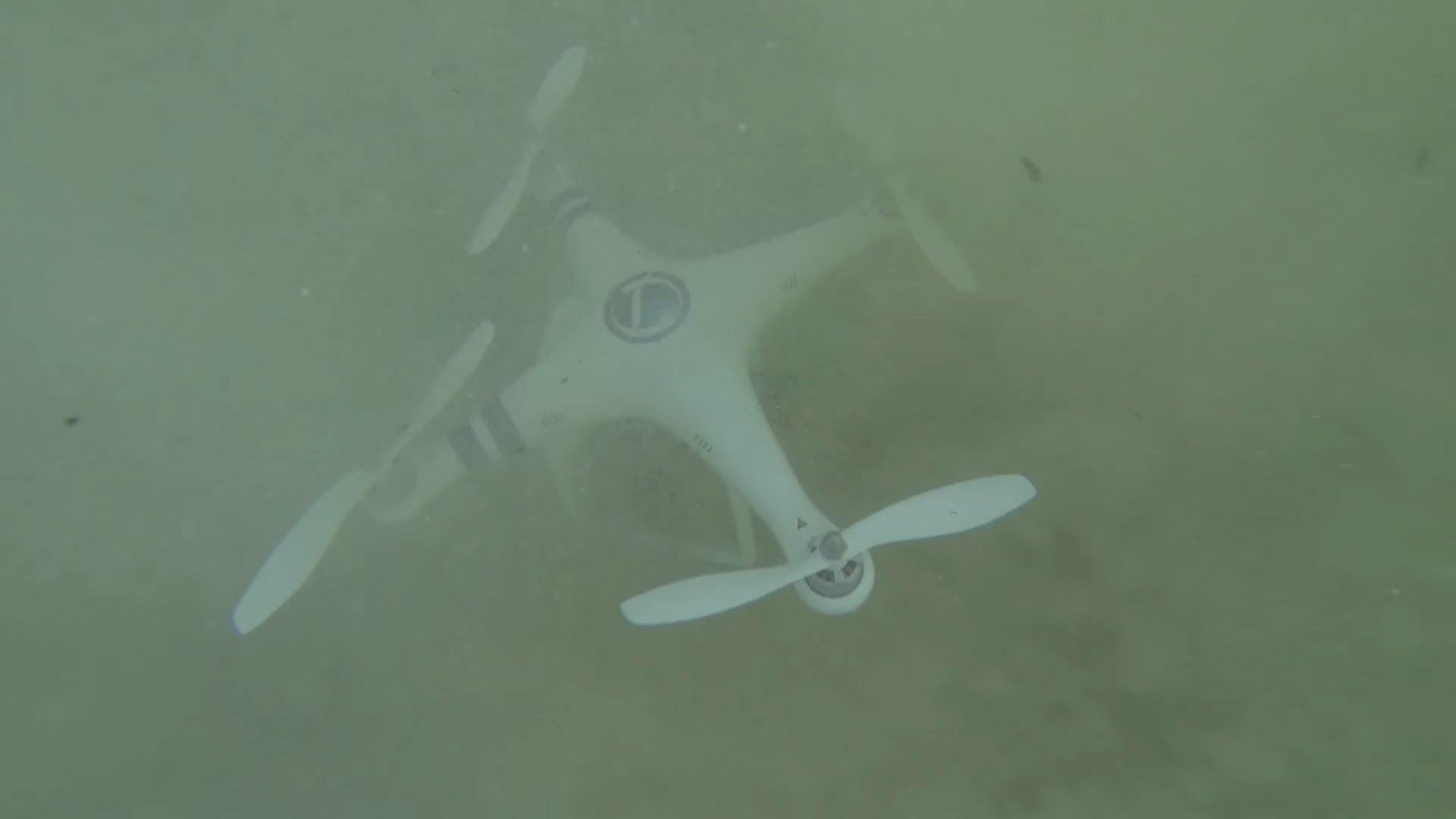 sank drone