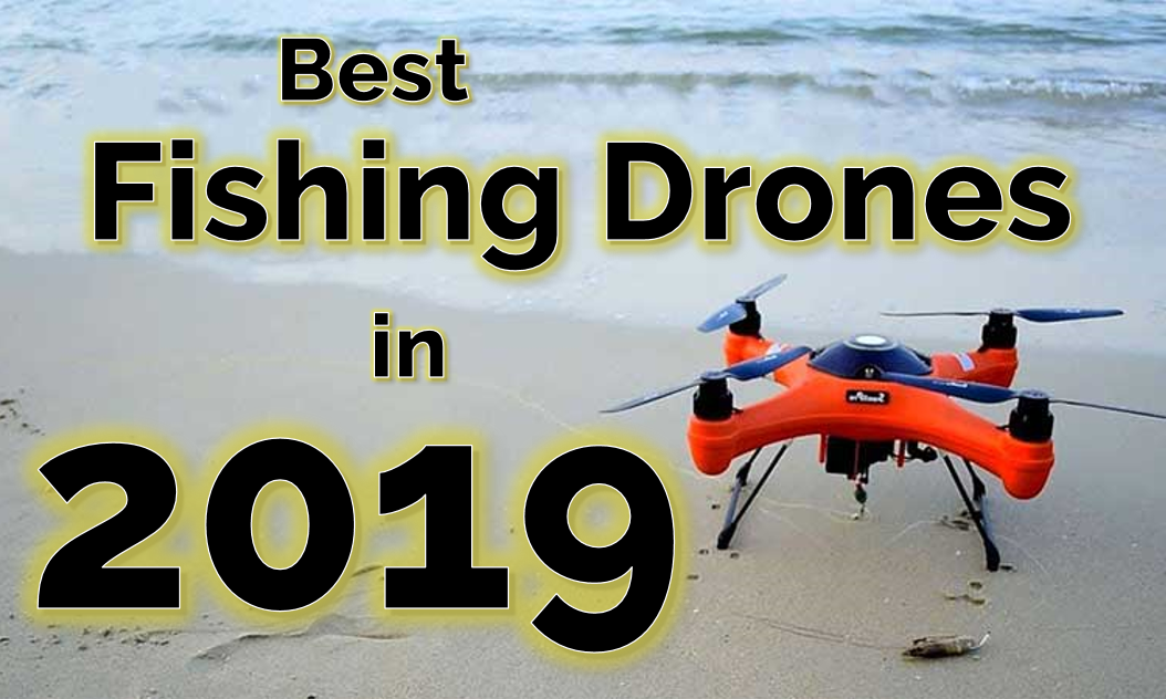 Best drones for fishing featured image - SplashDrone 3+