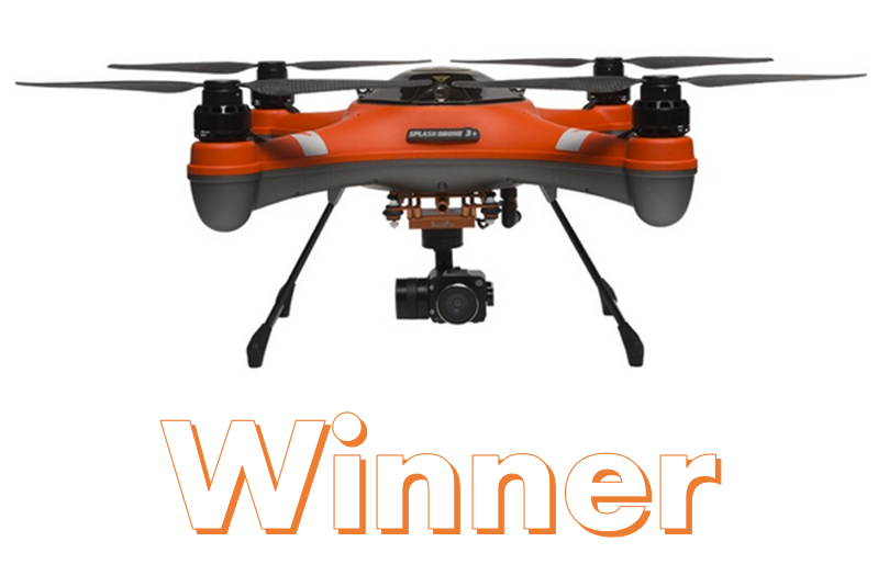 SwellPro SplashDrone 3+ Waterproof Drone - Winner