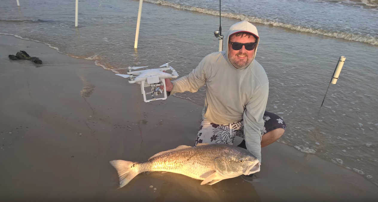 Drone Fishing DJI Phantom