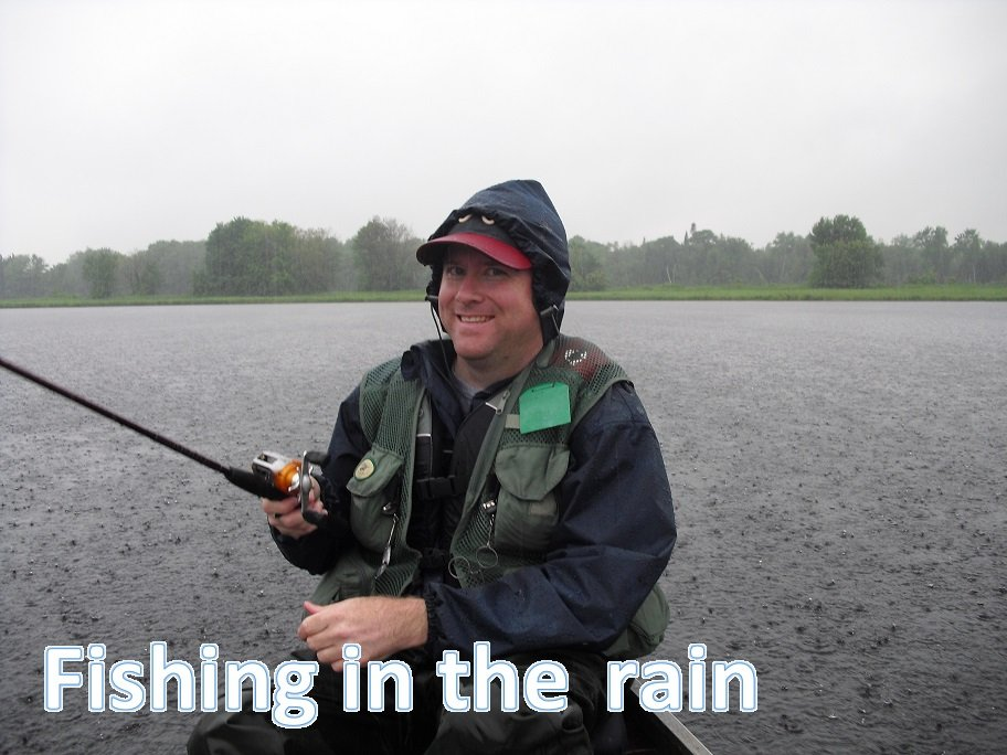 How to fish in the winter - Fishing In The Rain