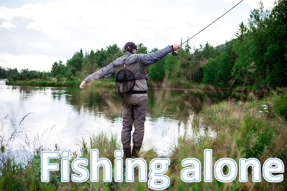 How to fish in the winter - Fishing alone