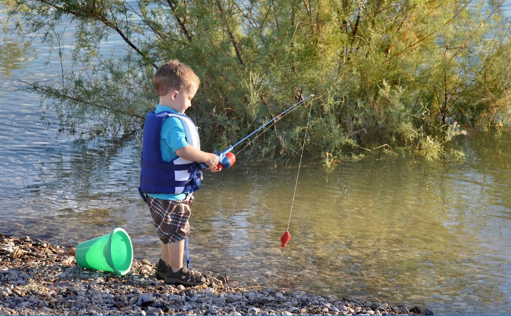 How to get the family fishing - Choosing fishing tackle