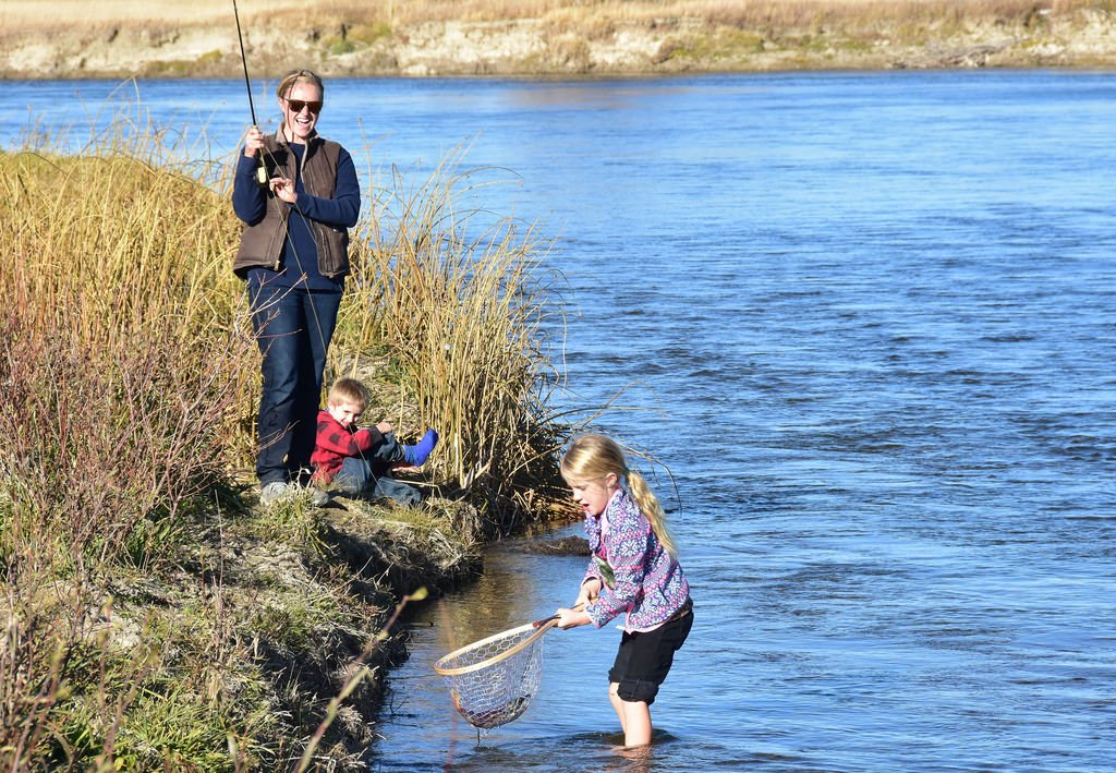 How to get the family fishing - Fishing is fun