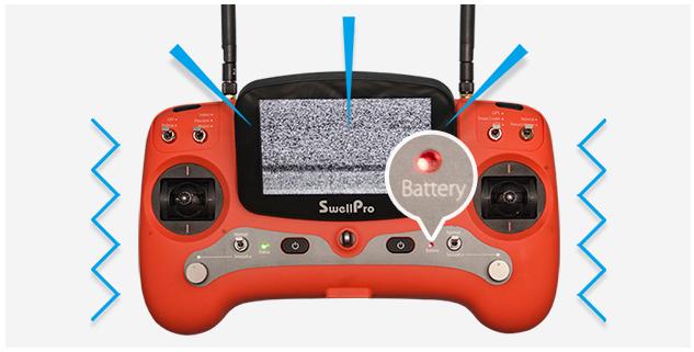 SwellPro SplashDrone 3+ Low Battery Alerts