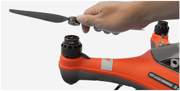 SwellPro SplashDrone 3+ Quick Fit Propellers