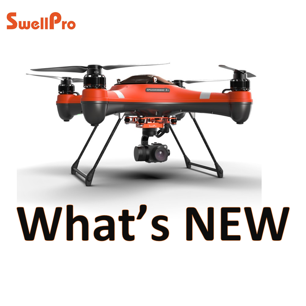 SwellPro SplashDrone 3 plus - what is new