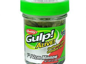 How to catch bluegills - Berkley Gulp Alive Minnow 1 inch