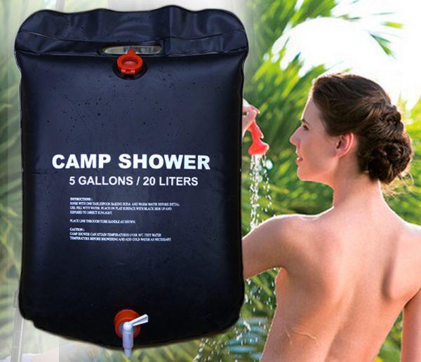 Camping Soft Shower Bag