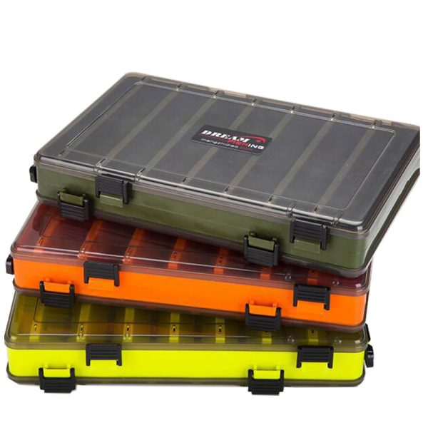 Double Sided Fishing Lure Box