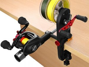 Fishing Reel Line Spooler