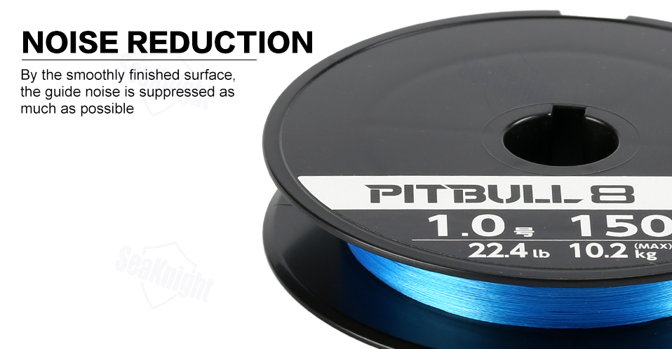 Shimano pitbull x8 noise reduction