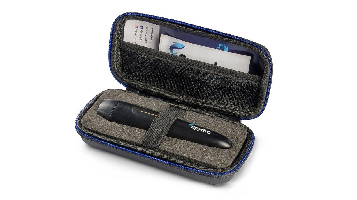 Spydro Fishing Camera Case Opened