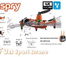 SwellPr SPRY drone - Watch Out DJI - featured image