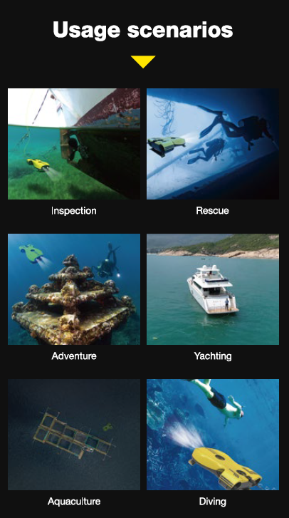 Aquarobotman Nemo Underwater Robot Underwater Drone Usage Scenario