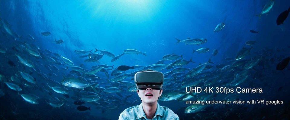 Aquarobotman Nemo Underwater Robot Underwater Drone VR