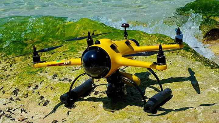 Best waterproof drone with camera - quadh2o