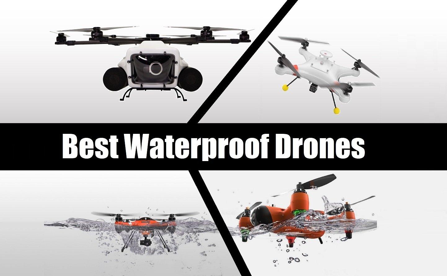 8 Best waterproof drones January 2019 – Great waterproof quadcopters