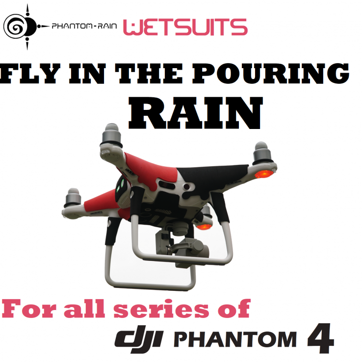 Phantom Rain - Wetsuits - 4 colors - For DJI Phantom 4