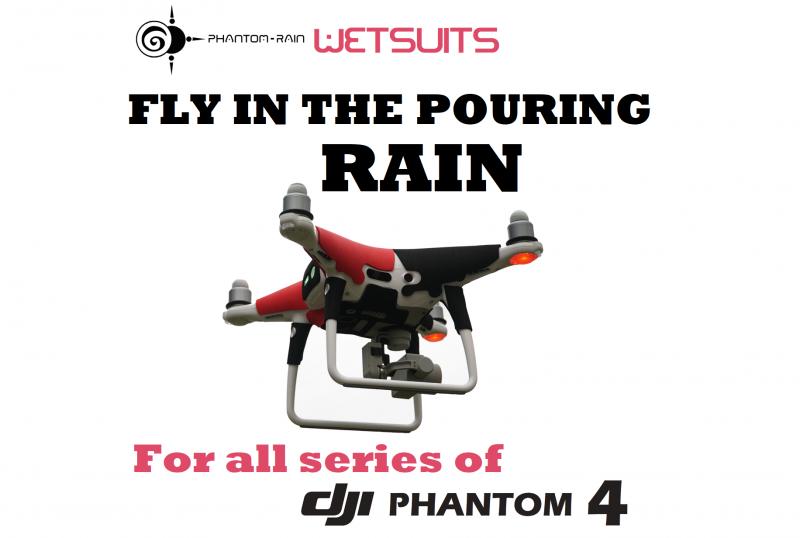 Phantom Rain - Wetsuits - 4 colors - For DJI Phantom 4