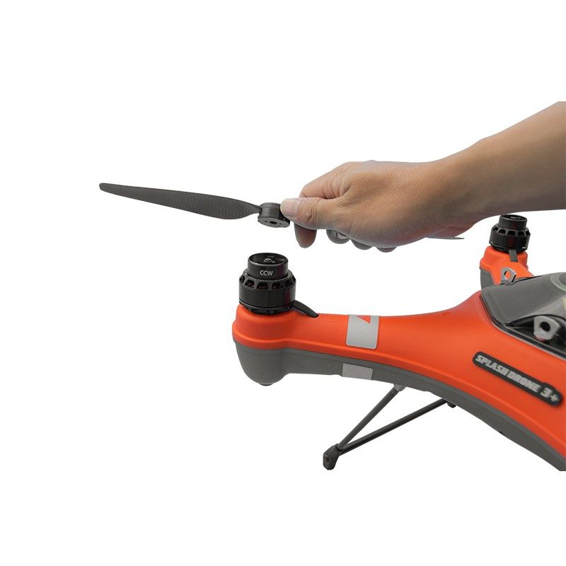 SwellPro SplashDrone 3 Propellers 1242 quick release - install