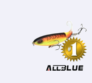 allblue fishing lure no 1
