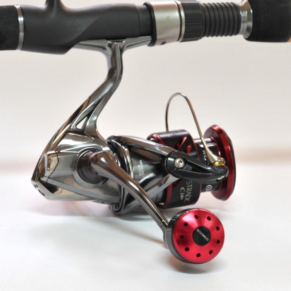 Gomexus Power Knob 30mm - On a fishing reel 1