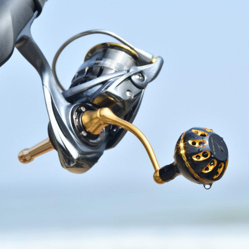 Gomexus Power Knob 35mm - Shimano Aero Fishing Spinning Reel Black Gold