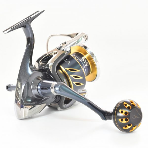 Gomexus Power Knob 38mm Power Knob For spinning reel Sample B Black Gold