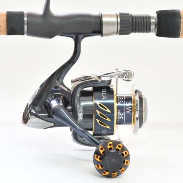 Gomexus Power Knob 38mm Power Knob For spinning reel Sample Black Gold