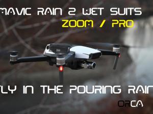 Mavic Rain 2 wetsuits 4 colors available by Phantom Rain - Mavic Pro - Mavic Zoom