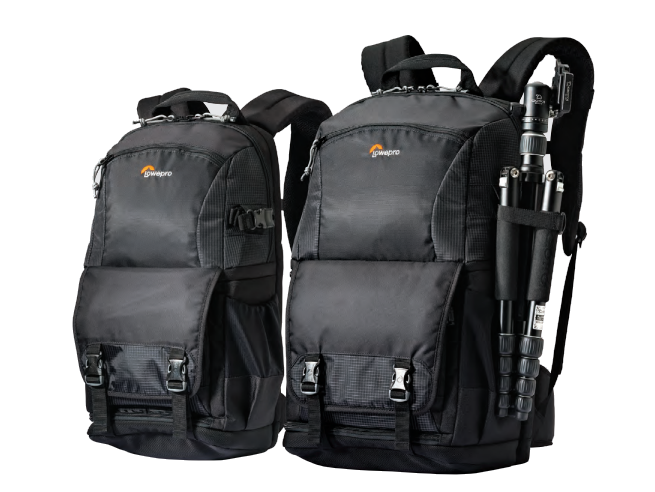 Lowepro Fastpack BP 250 II AW camera drone tablet laptop 2 bags