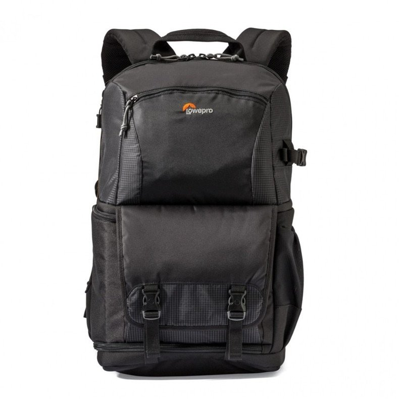 Lowepro Fastpack BP 250 II AW camera drone tablet laptop front view