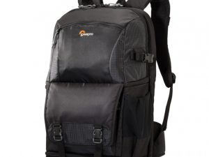 Lowepro Fastpack BP 250 II AW camera drone tablet laptop side view