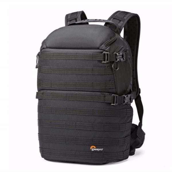 Lowepro ProTactic 450 AW Camera bag for Camera Laptop Drones backpack front side