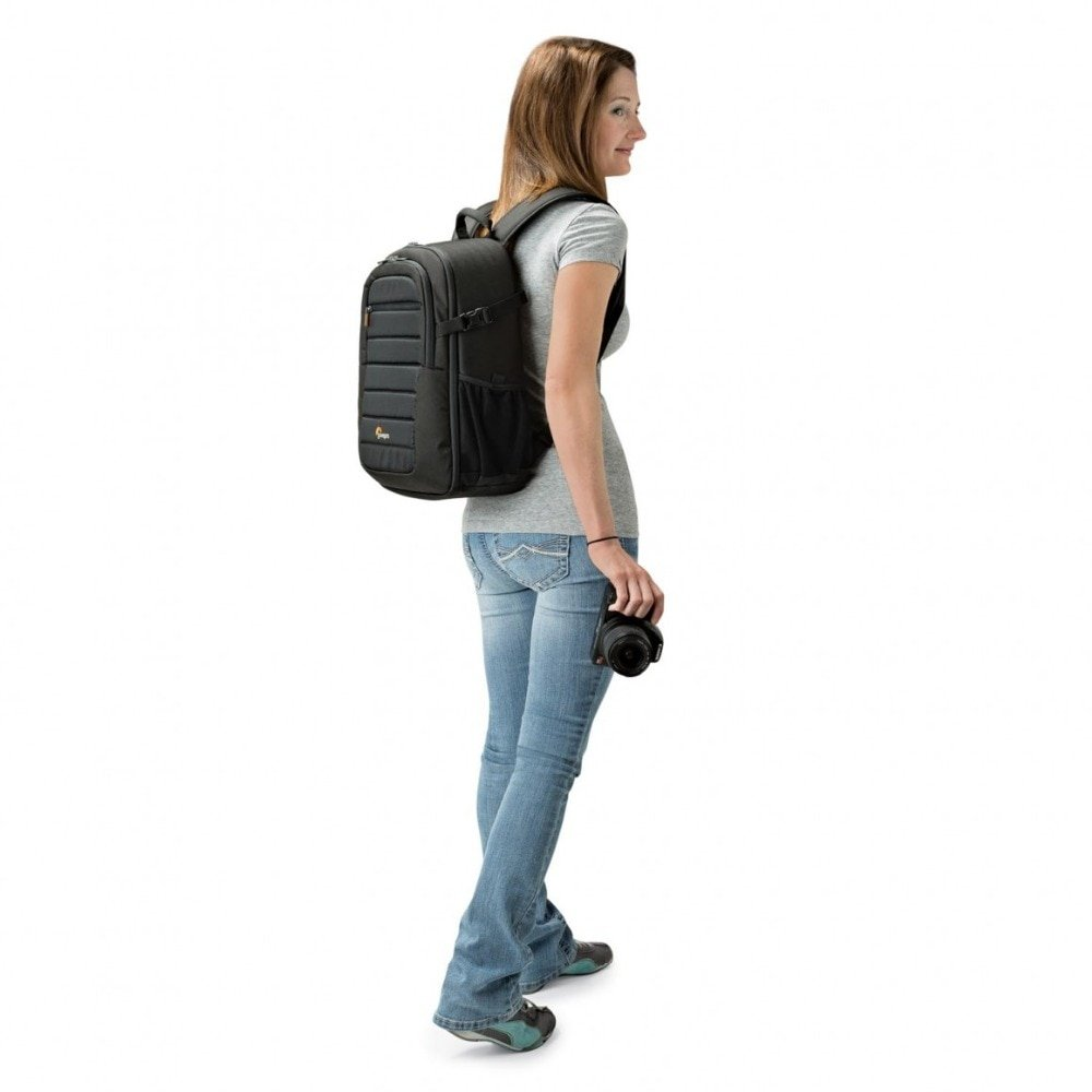 Lowepro Tahoe BP 150 - Backpack for Camera Tablet Drone - on woman
