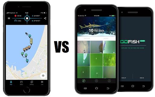 Spydro VS GoFish Cam - Mobile App