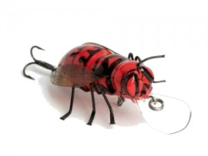 DM Cricket Lures Big Hornet bug Red