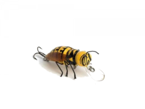 DM Cricket Lures Big Hornet bug Yellow