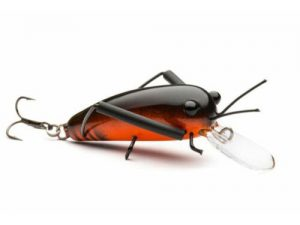 DM Cricket Lures Big Wooden Black Orange