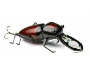 DM Cricket Lures Medium Stag Beetle Deer bug Red