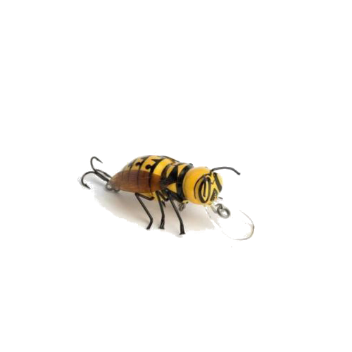 DM Cricket Lures Small Hornet bug Yellow