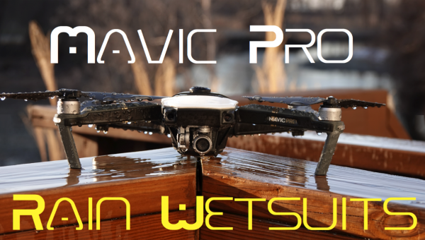 Mavic Pro Rain Wetsuits - Phantom Rain