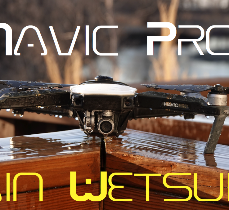 Mavic Pro Rain Wetsuits - Phantom Rain
