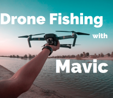 Drone Fishing with DJI Mavic Drone - Featured Image