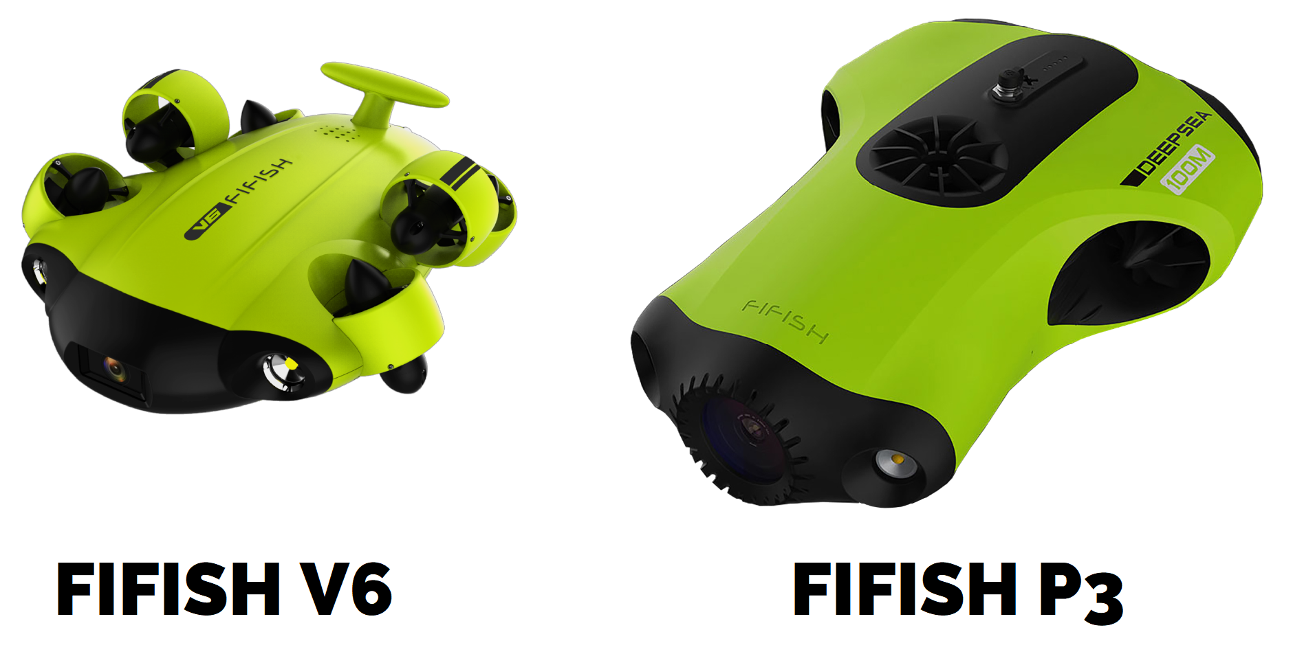 FIFISH V6 with FIFISH P3